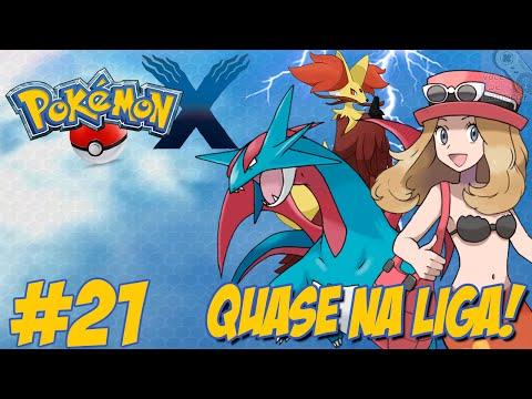 Pokémon X - Nova Jornada #21 / Victory Road / Enfrentando Serena / A Caminho da LIGA POKÉMON!!