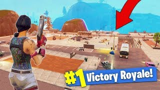 Destroying EVERY Building In Tilted Towers! [Fortnite - Battle Royale]