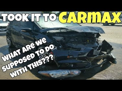 I Brought My REBUILT SALVAGE Car with FRAME DAMAGE to Carmax for Appraisal! Very Surprised!