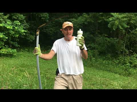How To Cut Hay With A Scythe Arm And Shoulder Method Versus Tai Chi Way