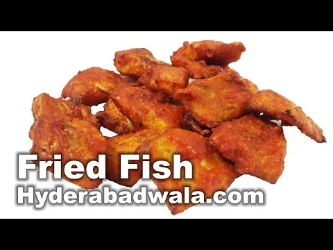 Crispy Fried Fish Recipe Video – How to Make Tali Hui Machli at Home – Easy & Simple