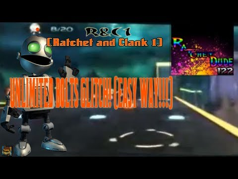 Ratchet & Clank 1 (HD) Unlimited Bolts Glitch - 2 Million bolts