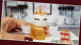 Mini Gold Unicorn-angel Cake/ Real Mini Cake / Jenny