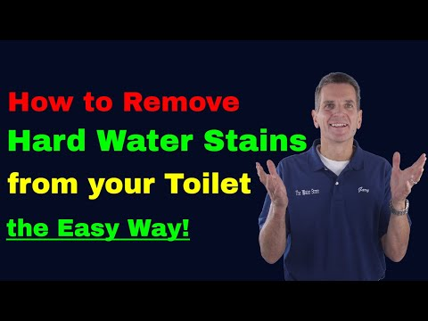 How to Remove Hard Water Stains from Your Toilet-the Easy Way!