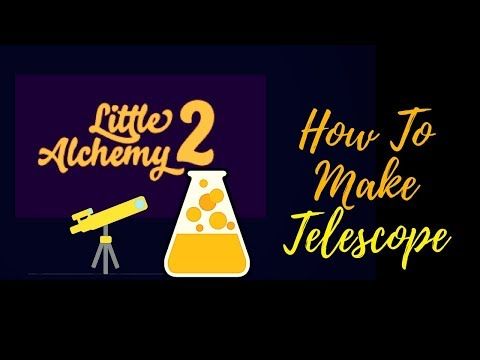 Little Alchemy 2-How To Make Telescope Cheats & Hints