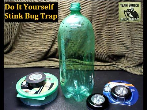Cheap DIY Stink Bug Trap