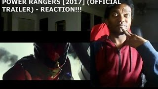 POWER RANGERS [2017] (OFFICIAL TRAILER) - REACTION