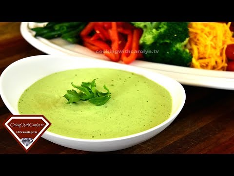 Homemade Green Goddess Salad Dressing Recipe and HOW TO SERVE The Best Layered Chicken Salad