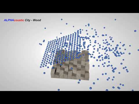 Sound Diffusers: City Wood from Alphacoustic.com