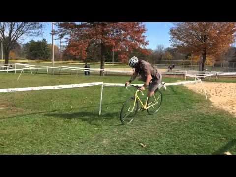 Erik Jensen barrier hop and skirt problems!