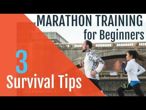 Marathon Training for Beginners |  3 Survival Tips!