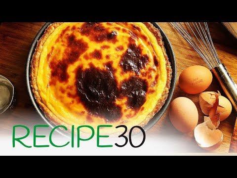Flan Parisien a French Custard Tart