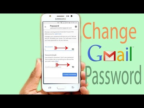 Easy Way- How To Change Gmail Password In Android Change Email Password