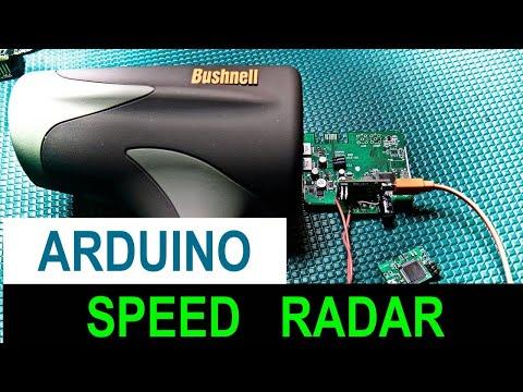 Arduino Radar Speed Gun Tutorial - Part 2 Custom Board