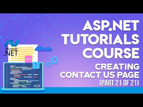 ASP.NET Tutorials in Urdu/Hindi part 21 creating contact us page