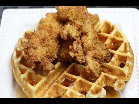 Chicken and Waffles - How to Make Chicken and Waffles from Scratch