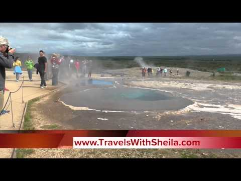 The Popular Golden Circle Tour in Iceland: Great Geysir and Guilfoss Waterfall