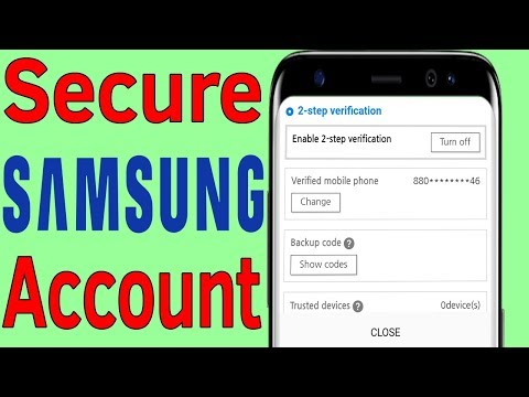 My Samsung Account : How To Add/ Enable 2 Step Verification on Samsung Account - Helping Mind