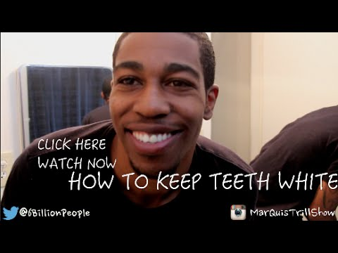 HOW TO GET WHITE TEETH STEP BY STEP