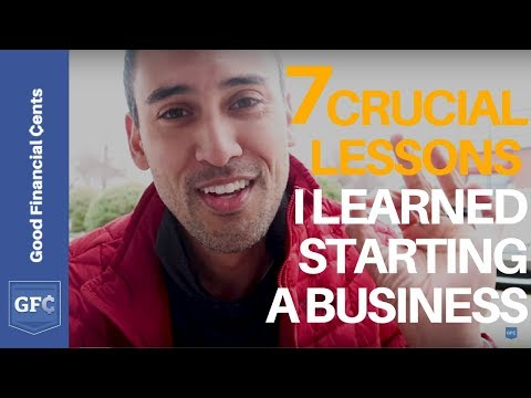 7 Crucial Lessons I Learned Starting a Business (How I Survived)