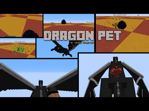 Dragon Pet in vanilla Minecraft - Proof of Concept