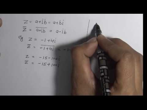 Complex Conjugate - How to Find Conjugate of a Complex Number (hindi) | 11 Class Maths