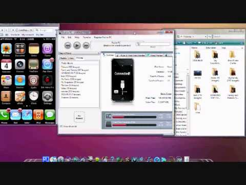 How to Transfer Photos, Videos, Music from your iphone/ipod on to your PC/Mac