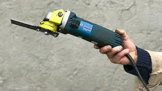 Very Unusual Idea FROM ANGLE GRINDER  / How to Do?