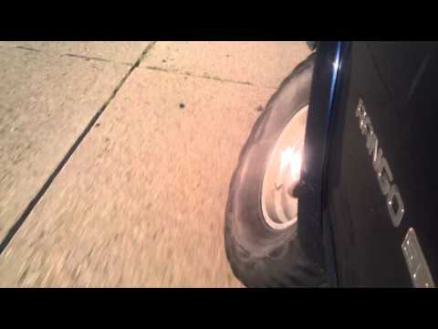 Dodge Durango ball joint failure caught on cam