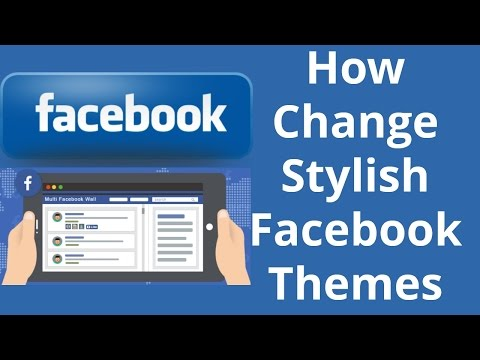 How to Change Facebook Theme and use Different Theme। EraIT
