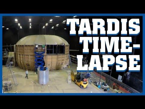 TARDIS Deconstruction Timelapse | Doctor Who