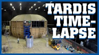 TARDIS Deconstruction Timelapse - Doctor Who