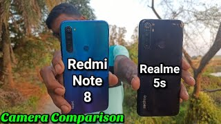 Realme 5s vs Redmi Note 8 Full Camera Comparison and Review in Hindi || Who is Best ?
