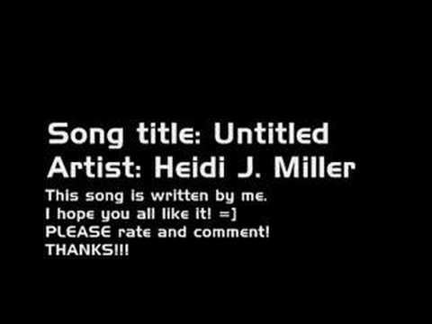 A song written by me! =]