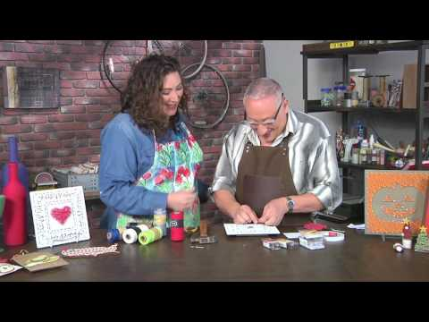 Learn new techniques for string art on Make It Artsy with Joe Rotella (209-2)