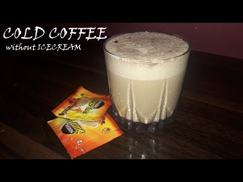 COLD COFFEE WITHOUT ICE-CREAM | AARTI'S KITCHEN