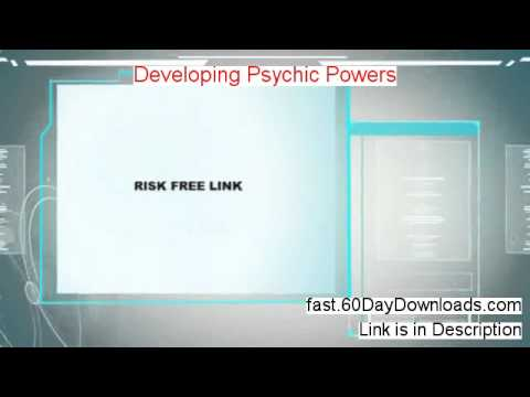 Developing Psychic Powers 2014 (my review and download link)