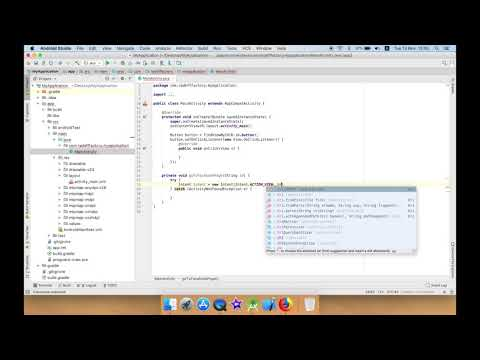 Open Facebook Page in Android Studio