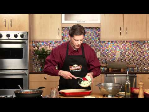 Italian Sausage Lasagna - Valentine's Edition