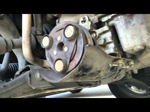 2005 mazda 3 ac pump/compressor removal