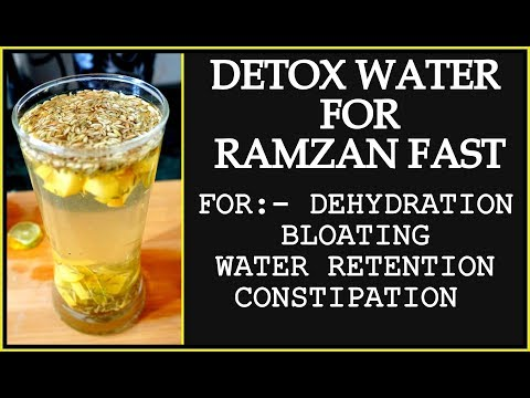 Ramadan Detox Water Recipe for Weight Loss | How to Lose Weight Fast in Ramadan | Fat to Fab Suman