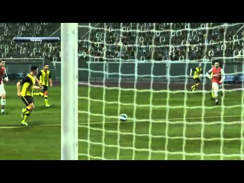 PES 2013 MSL Malaysia vs Arsenal (2nd Half).mp4