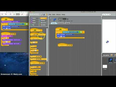 Make a Simple Game in Scratch