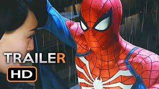 Spiderman Gameplay Trailer (E3 2018) Marvel Superhero Video Game HD