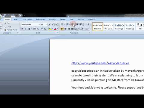 How To Display the Ruler In Microsoft Office 2007 & 2010 Step By Step Tutorial