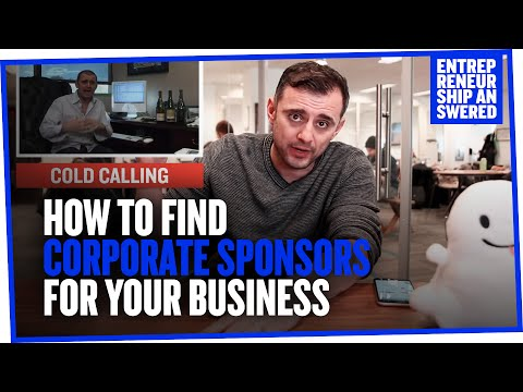 How to Find Corporate Sponsors For Your Business
