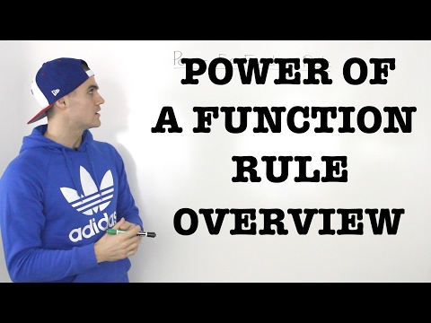 MCV4U (2.3) - Power of a Function Rule for Derivatives Overview - grade 12 calculus