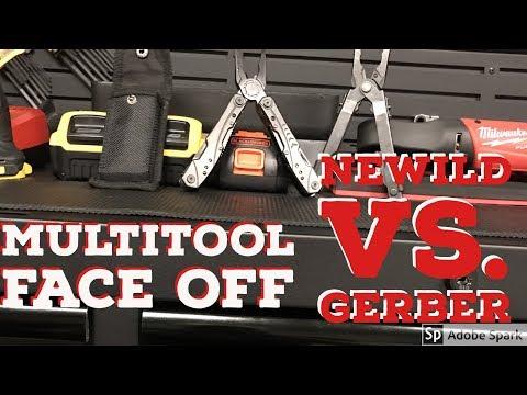 New Tool: Multi Tool Review Newild, Gerber, Leatherman