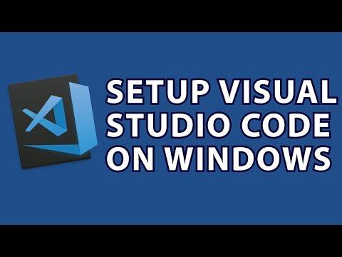 Setup Visual Studio Code Windows