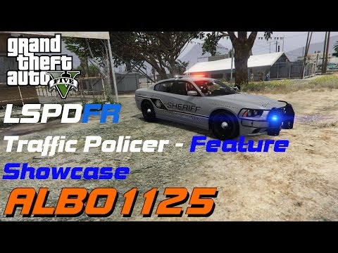 Traffic Policer Feature Showcase | GTAV LSPDFR | Albo1125